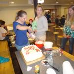 Tårtorna tillreds