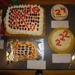 Färdiga tårtor