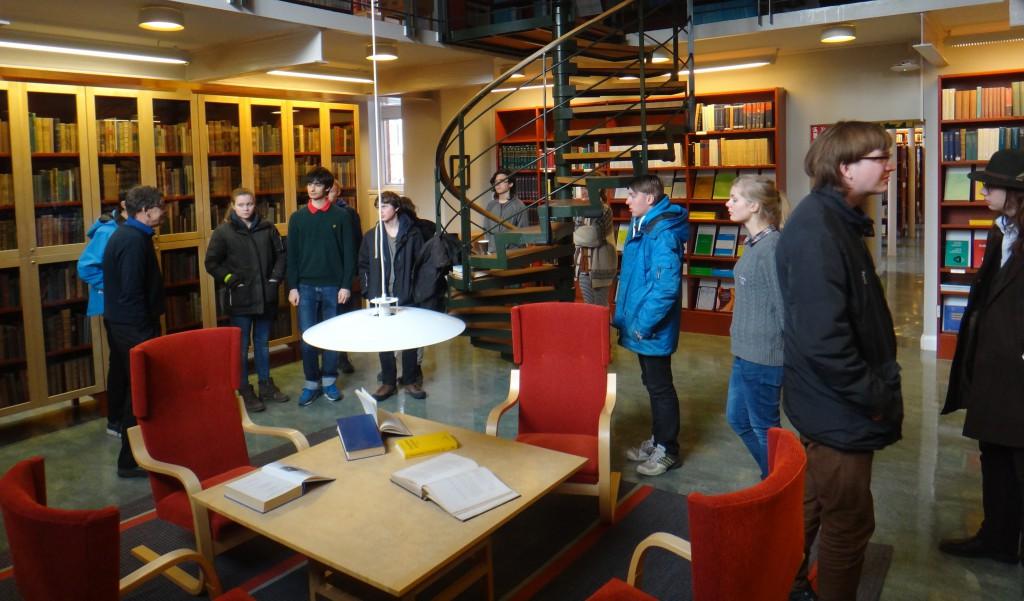 Matematiska institutionens bibliotek